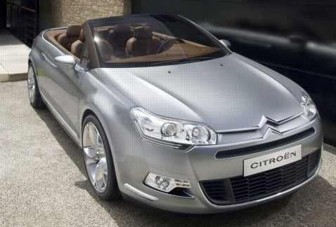 More on the Citroen C5 Airscape Concept