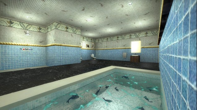 Lara Croft's Manor, Remade As A Counter-Strike Map