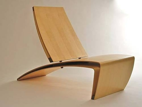 PK Lounge Surf Chair Captures Constant Motion