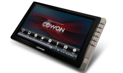 Cowon N3 PMP has 7-inch Screen, GPS, DivX/XviD Support