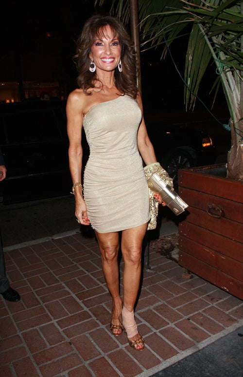 Susan Lucci Smiles Through The (Ankle) Pain