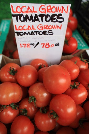 Store Fears Repeat Tomato Attack Against Palin