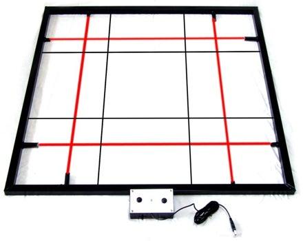 Laser Dance Matrix: No Black Required
