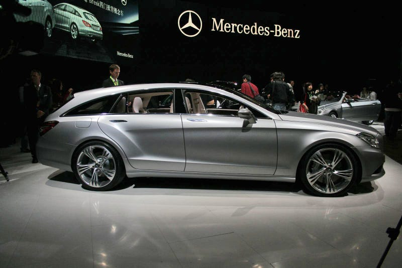 Mercedes Benz CLS Shooting Brake Concept