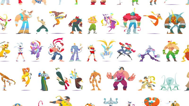 57 Street Fighters, All in the One Place