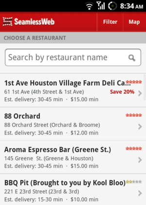 Order Takeout from Anywhere with Your Smartphone and SeamlessWeb