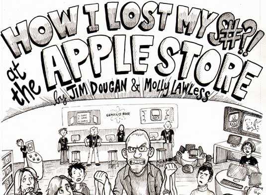 Guy Makes a Comic to Try to Justify Acting Like a Jackass at the Apple Store