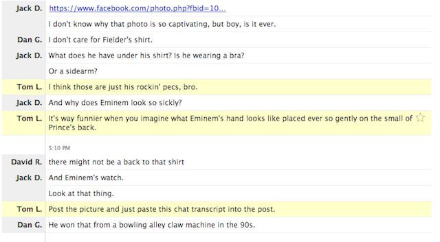 The Deadspin Staff Discusses An Oddly Captivating Photo Of Eminem And Prince Fielder