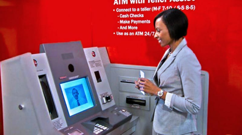 Bank Tellers Ask Banks: Please Don't Replace Us With Video Screens