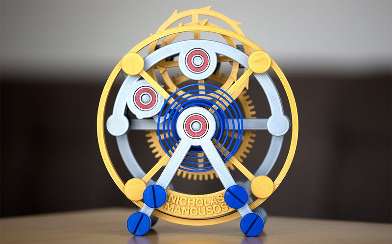 An Oversized 3D-Printed Tourbillon Reveals the Marvels of Watchmaking