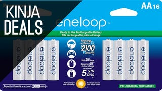 Cheapest Ever 16-Pack of the Best Rechargeable Batteries