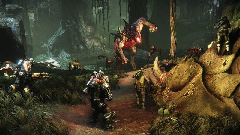 Four Players Are Co-Op Heroes. The Fifth Is Their Giant Enemy. Fight!