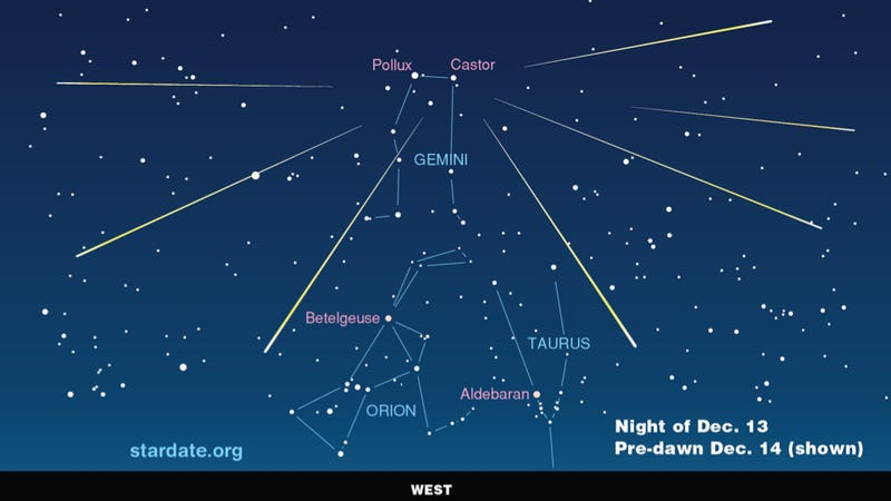 Everything you need to know to catch tomorrow's Geminid meteor shower