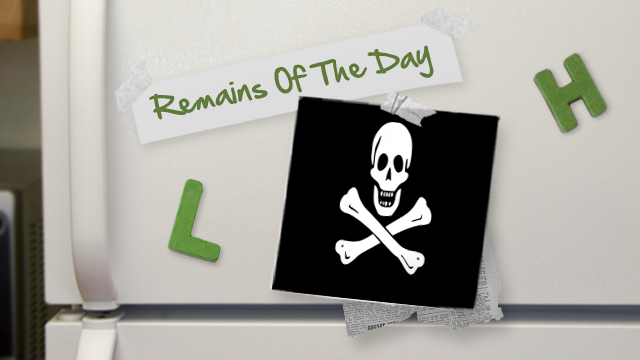 Remains of the Day: Another Push Against Piracy