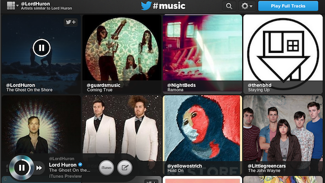 "Add ""Instant"" to a Twitter #Music URL to Discover Similar Artists"