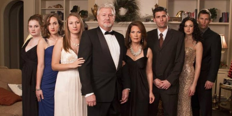 Michele Bachmann's Downton Abbey Posh-Porn Family Selfie Is All Wrong