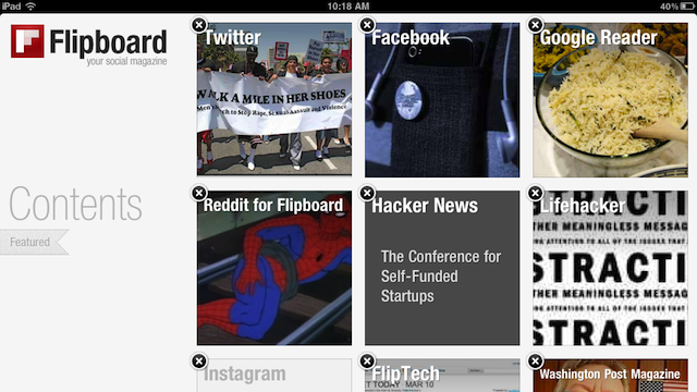 iPad Magazine Flipboard Updates with Instagram Support and a Serious Speed Increase