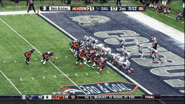 Peyton Manning Briskly Jogs For A Rushing Touchdown