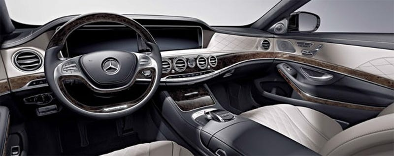 The 2015 Mercedes-Benz S600 Looks Like An S550 With Different Badges