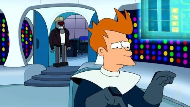 Futurama offers up a surprisingly hilarious take-down of every cop cliche ever