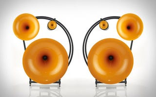 These Speakers Look Like Gigantic Golden Ears