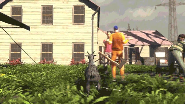 Q&tAy: Coffee Stain Studios' Goat Simulator