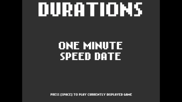 One Minute Speed Date, And Other Weird Games