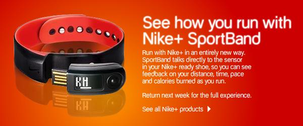 Nike+ SportBand Coming Next Week