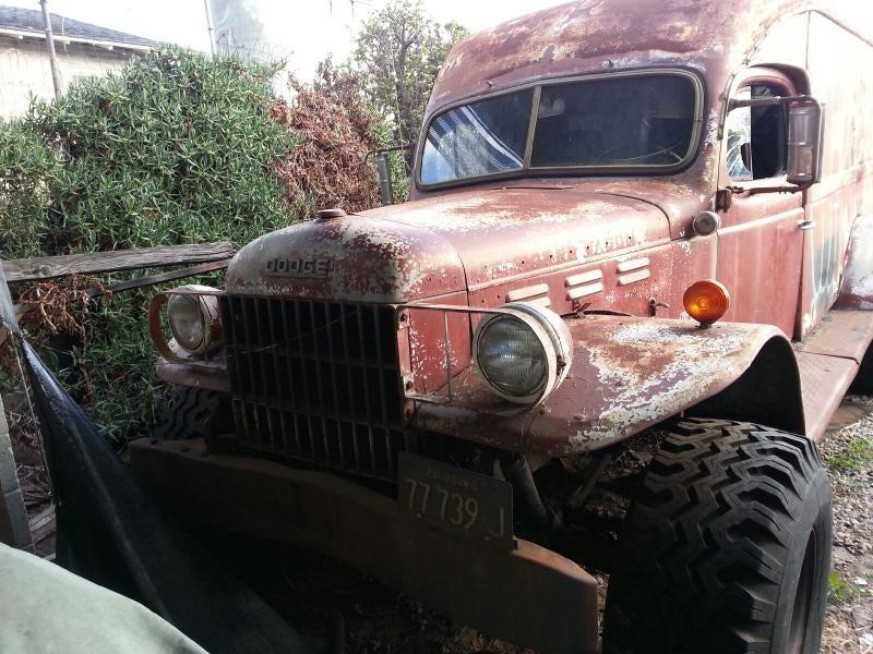 1951 Power Wagon. It's...Beautiful