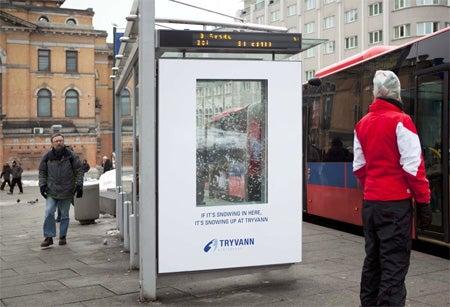 Snowing Billboards Screwing Up Careers in Norway