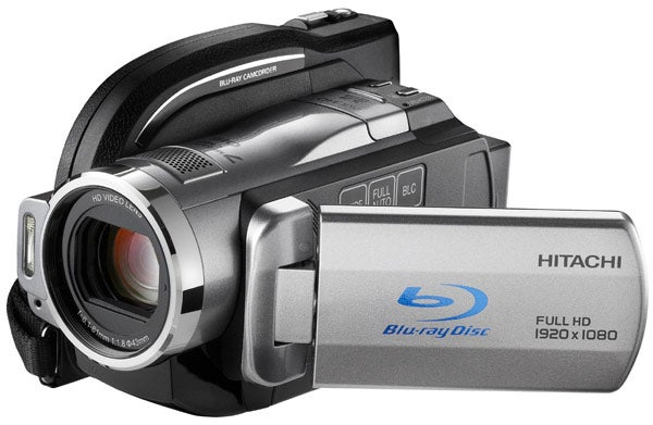 Triple Format Hitachi DZ-BD10HA Blu-ray Camcorder Also Writes to HD and SDHC
