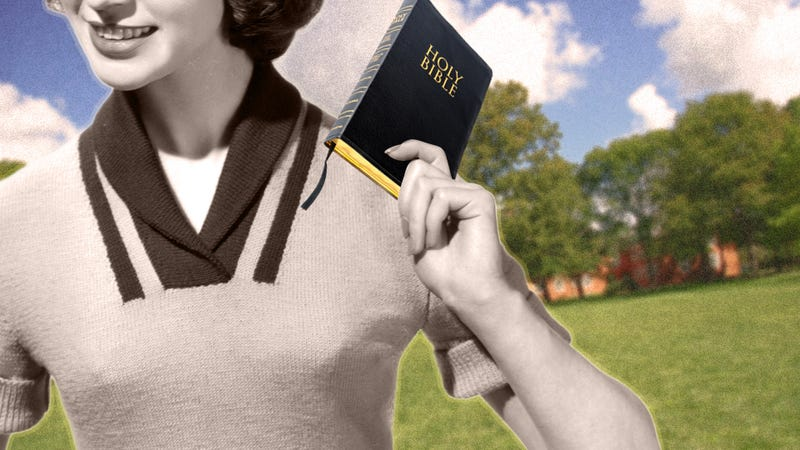 Have You Heard the One About the Religious Woman Who Stops Being Religious in College?