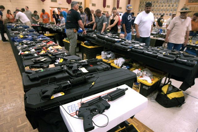 Why Booze and Gun Shows Don't Mix