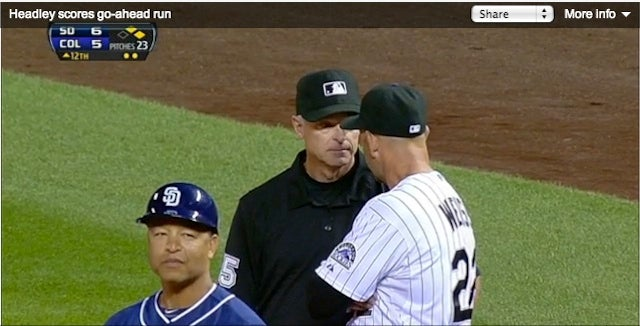 MLB Umpires Manage To Blow Two Calls On The Same Play