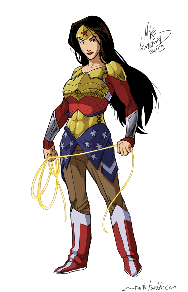 Fully clothed female superheros finally look like they can fight crime in the winter