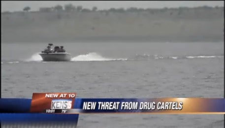 Armed Mexican Drug Cartel Pirates Operating on Texan Lake