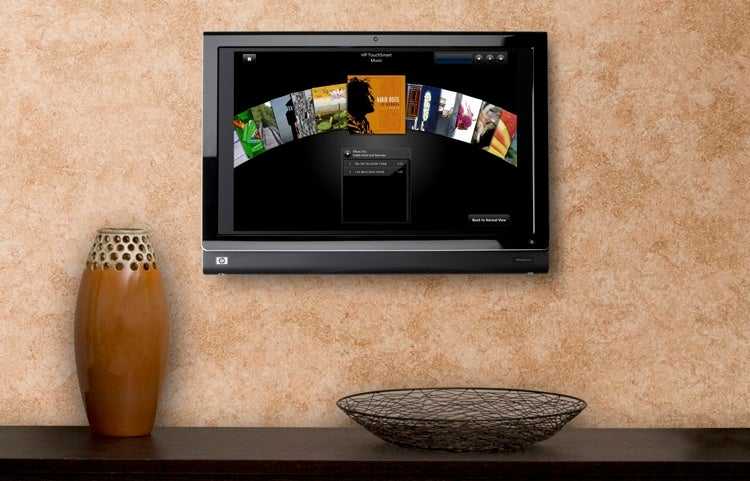 HP Touchsmart IQ816 Adds Bigger Screen, Blu-ray, VESA Wall Mount