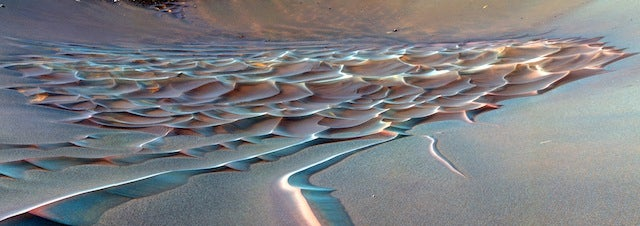 These images of Mars are just unspeakably gorgeous.