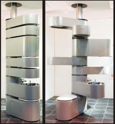 Vertebrae Bathroom the $20,000 Kit for Mile-High Club Enthusiasts