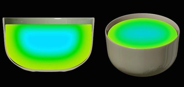 Infrared Microwave Shows Your Food Change Color As It Heats Up
