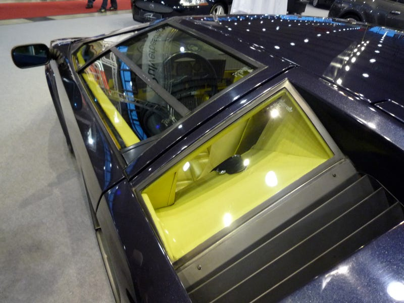 Just One of the Countach's Many Weird Windows