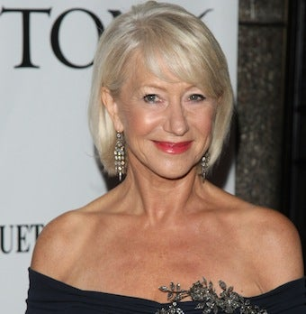 Helen Mirren Poses Topless, Declares Allegiance to Lady Gaga