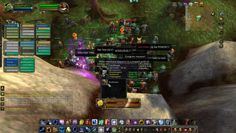 World Of Warcraft Player Hits Level 90 Without Picking A Side