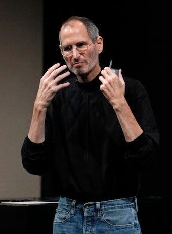 Steve Jobs Offers World 'Freedom From Porn'
