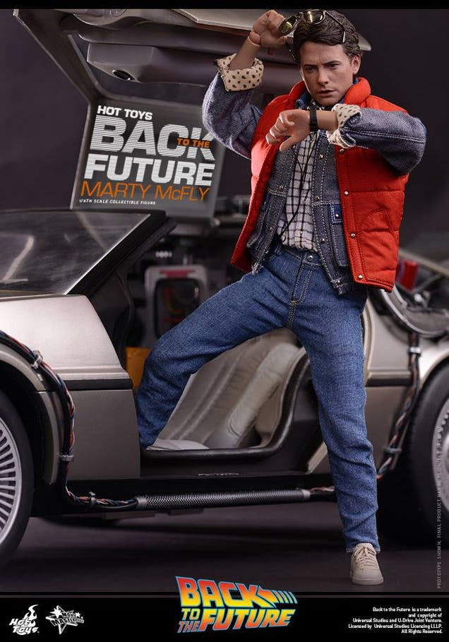 Back To The Future Action Figure Is A Perfect, Tiny Michael J. Fox