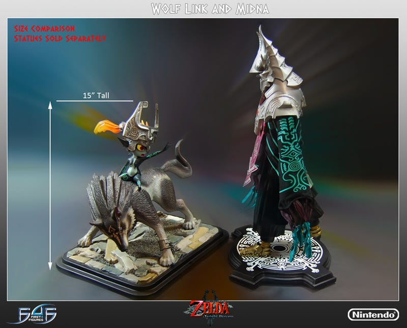 The Newest $350 Zelda Statue