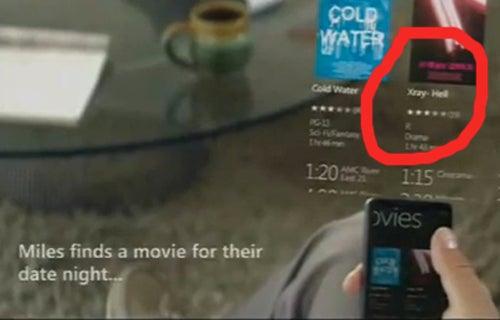 Windows Phone 7 Series Promo: What Lies Beneath