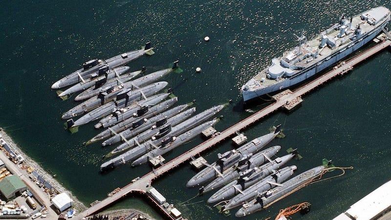 американская подводная лодка в россии
