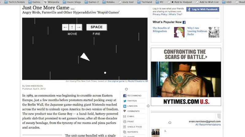 Go Blow Up The New York Times' Website. It's Fun!