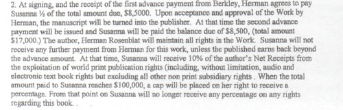 Lessons from the Holocaust Faux-Memoirist's Book Contract, By the Numbers